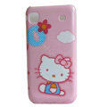 Brand New pink Hello Kitty Hard Case For Samsung i9000 - EB001