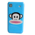 Pual Frank Cartoon Plastic Hard Case Cover For Samsung i9000 - Blue