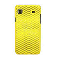 Mesh Hard Case Cover For Samsung i9000 - yellow