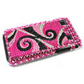 Bling crystal for Samsung i9000 case - pink EB014