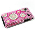 Bling crystal for Samsung i9000 case - pink EB015