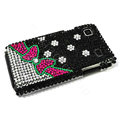 Bowknot bling crystal for Samsung i9000 case