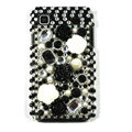 Flowers bling crystal for Samsung i9003 case