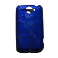 Mesh Hard Case For HTC G8 - blue