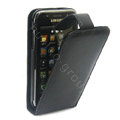Simple Leather Case For HTC G11 - Black