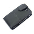 Simple leather case for HTC G8 - black