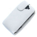 Simple leather case for HTC G8 - white