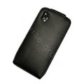 Simple Leather Case For HTC G9 - Black