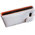 Simple Leather Case For HTC G9 - white