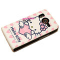 Hello Kitty Leather case For HTC A9191 Desire HD G10 - EB001