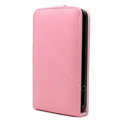 IMAK Leather case For HTC Desire HD A9191 G10 - pink