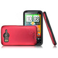 IMAK color covers for HTC Desire HD A9191 G10 - red