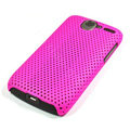 Mesh hard case For HTC G7 - rose