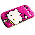 Hello Kitty color covers for HTC G12 - rose