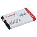 YOOBAO Battery for BlackBerry 8520 1100mAh