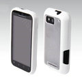 MOMAX silicone case for Motorola MB525 ME525 Defy - white