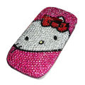 Hello Kitty bling crystal case for Nokia C7 - rose