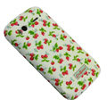 Strawberry Color Painting Protective Case for HTC G14