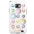 Color ice cream pattern Silicone Case For Motorola MB860