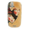 Color Painting Avatar Protective Case for Motorola XT800 - brown