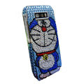 Doraemon bling crystal case for Nokia E71 - blue