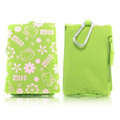 Hello Kitty Cloth Case for Nokia N9 - green