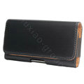 Leather holster Case for Nokia X7-00 - black