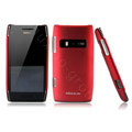 NILLKIN color cover case for Nokia X7-00 - red