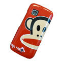 Paul Frank color covers for Nokia C5-03 - red