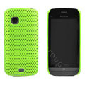 Mesh case cover for Nokia C5-03 - green