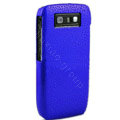 Three-dimensional droplets color covers for Nokia E71 - blue