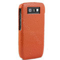 Three-dimensional droplets color covers for Nokia E71 - orange