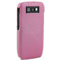Three-dimensional droplets color covers for Nokia E71 - pink