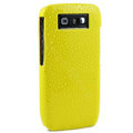 Three-dimensional droplets color covers for Nokia E71 - yellow