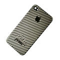 Metal back cover case for iPhone 4G - Stripe EB001