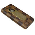 LV leather holster case cover for iPhone 4G - EB001
