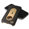 LV leather holster case cover for iPhone 4G - EB003