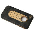 LV leather holster case cover for iPhone 4G - EB004