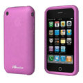 iGenius Silicone Cases Covers for iPhone 3G/3GS - purple