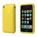 iGenius Silicone Cases Covers for iPhone 3G/3GS - yellow