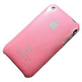 Ultrathin hard back cases covers for iPhone 3G/3GS - pink