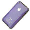 Ultrathin hard back cases covers for iPhone 3G/3GS - purple