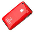 Ultrathin hard back cases covers for iPhone 3G/3GS - red