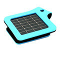 Suntrica USB Solar Charger for iPhone/ipad - blue