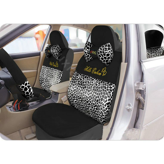 Buy Wholesale Hello Kitty Sexy Leopard Universal Car Seat Covers Sets Black Car Seat Covers