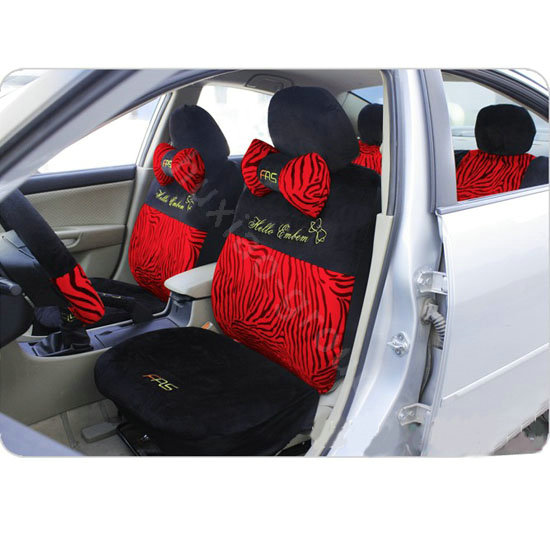 buy wholesale hello kitty zebra universal car seat covers sets black eb002 car seat covers. Black Bedroom Furniture Sets. Home Design Ideas