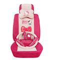 Hello Kitty Universal Auto Car Seat Cover sets 18 pieces - rose