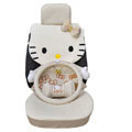Hello Kitty Auto Front Rear Car Seat Cover sets - Beige