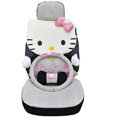 Hello Kitty Auto Front Rear Car Seat Cover sets - black