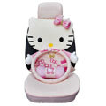 Hello Kitty Auto Front Rear Car Seat Cover sets - pink